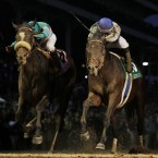 In a thrilling Breeders Cup Classic in Kentucky on Saturday night, America's sweetheart Zenyatta was beaten by a head by the younger Blame at a generous 9-2.