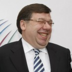 Taoiseach Brian Cowen says he was merely hoarse when conducting a radio interview with Morning Ireland from the Fianna Fail think-in last September. He said the suggestion that he had been