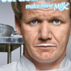 Do a Ramsay on it with a milk moustache and give the dairy industry a boost while you're at it.