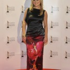 Karen Koster arriving on the IFTA red carpet. Photo by KOBPIX. 