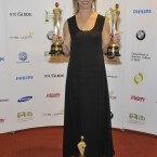Juanita Wilson, who won Best Script in a Film, Best Film for 'As If I Am Not There' and Best Director in a Film at the IFTAs. Photo by KOBPIX. 