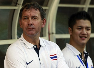Robson is currently national manager in Thailand.