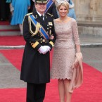 The Dutch Crown Prince Willem-Alexander and Princess Maxima.