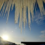 Icicles yield to the march of spring in Norway. Image: PA Images/Ben Birchall