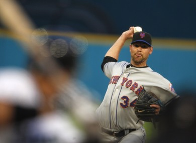 New York Mets starting pitcher Mike Pelfrey has starred in their impressive start to the season.