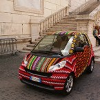 Smart car at Vatican City, Italy. Image: StartTheDay/Flickr