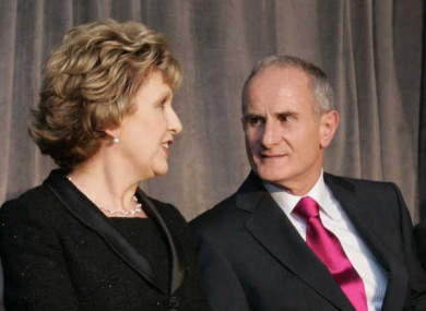 Dr Martin McAleese, husband of current President Mary McAleese, has been nominated to Seanad Éireann by Enda Kenny this evening.