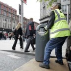 Bins are being removed from the streets of Dublin for security purposes in advance of the visit of Queen Elizabeth II and US President Barack Obama (Mark Stedman/Photocall Ireland)