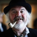 Joycean actor Jim Corcoran as 'The Citizen' in the Gresham Hotel for the morning breakfast at Bloomsday 2011. Pic: Julien Behal/PA Wire