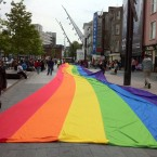 Alan O'Connor enjoyed the gay pride festivities in Cork