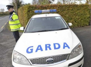 Shots were fired after garda from the organised crime unit stopped a car in Co Wicklow yesterday