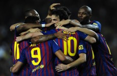 Sweaty jerseys are slowing us down, say Barca players