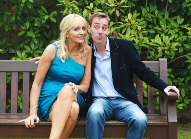 Miriam O'Callaghan and Ryan Tubridy at the RT's autumn schedule launch in August.