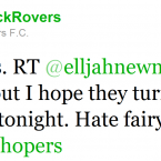 Elijah 'Scrooge' Newman gives his thoughts ahead of the Rovers game last week.