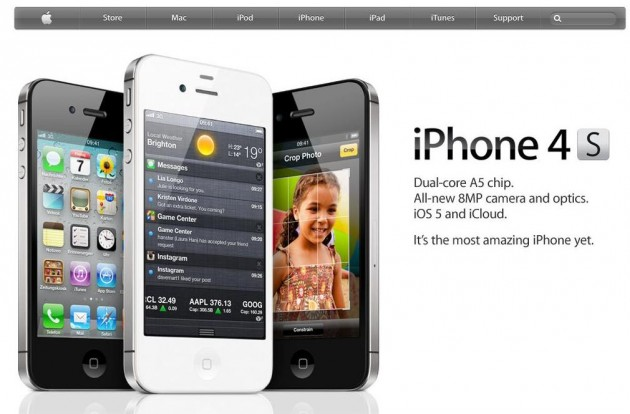 iPhone 4s is here