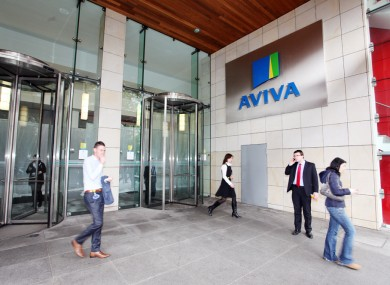 Aviva's headquarters in Dublin