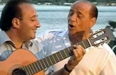 Eurozone crisis forces Berlusconi to put love song album on hold
