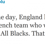 Eliota Fuimaono-Sapolu weighs in on the debate about the England team's recent shenanigans.