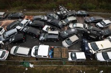 Three killed in 52 vehicle pile-up on German autobahn