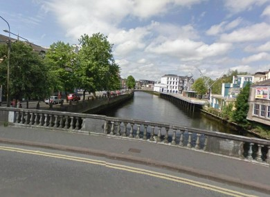 Parliament Bridge in Cork city (File photo)