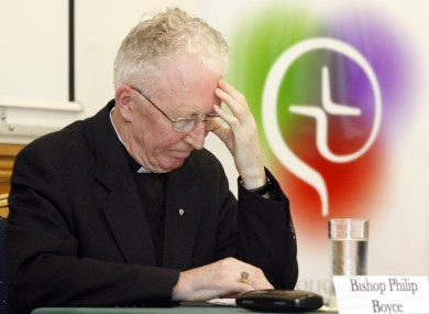 File photo of Bishop of Raphoe Philip Boyce
