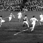The 1955 All-Ireland Final between Kerry and Dublin.
