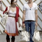 British darling Keira Knightly split from long-term boyfriend Rupert Friend (what a name!) in January. 