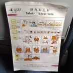 Safety instructions, thankfully, are provided in both English and Korean. 