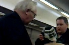 'Fare dodger' gets his comeuppance as 'Big Man' throws him off train