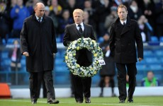 In Pictures: Football pays tribute to Gary Speed