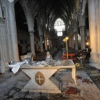 The altar in St Catherine's Church. Photograph: Sasko Lazarov /Photocall Ireland