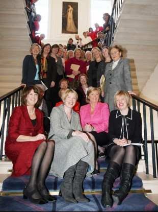 Female politicians in 2008 celebrating 90 years of women in the Oireachtas