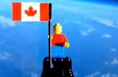 Video: One small step for Lego…
