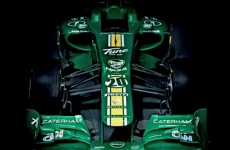 The first Formula 1 car of 2012 has been revealed