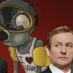 Enda Kenny at a press conference focusing on high-tech jobs (Photograph: Sasko Lazarov/Photocall Ireland)