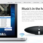 AirPlay is to be integrated with Macs so you can display what's on your screen on a big screen TV hooked up to an Apple TV. It works over your Wi-Fi network and will be great for presentations or showing video clips. (Photo: Apple)