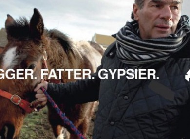 My Big Fat Gypsy Wedding star Paddy Doherty is featured in the campaign