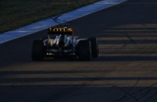 Raikkonen sets the pace on the first day of pre-season testing