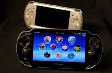 Sony launches new handheld games console – the 'Vita'