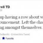 The Fine Gael deputy is loving the Dáil action
