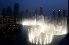 Dubai fountains 'dance' to Whitney's I Will Always Love You