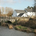 Situated on the River Slaney, the residence includes its own mill race and mill wheel. Price? €150,000 (including views and 3.11 acres)