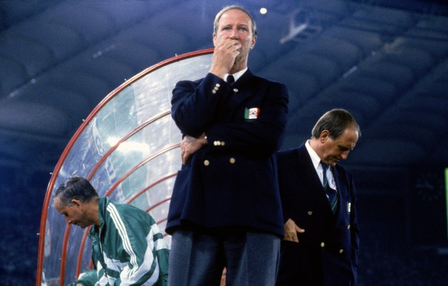 Soccer - World Cup Italia 90 - Quarter Final - Italy v Ireland