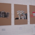 Artworks for tonight's opening at Unit 3, James Joyce Street, Dublin 1. (Image: PrettyvacanT Dublin)