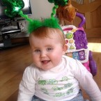 Because you're never too young to celebrate Patrick's Day... Someone who didn't leave their name sent us this photo of a young reveller in Keel, Ballyheigue, Co. Kerry. Aw. 