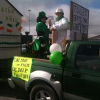 And another view of the septic tank protest in Dingle, thanks to Susan. 