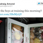 Padraig Amond reveals Accrington Stanley's unusual new diet.
