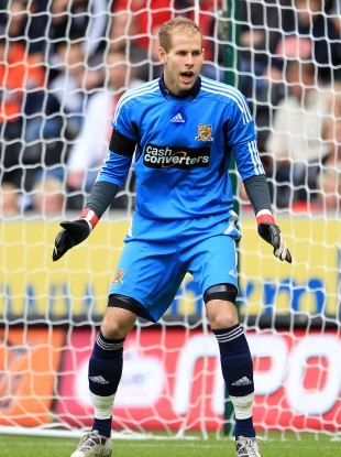 Peter Gulacsi played 15 times for Hull City this season