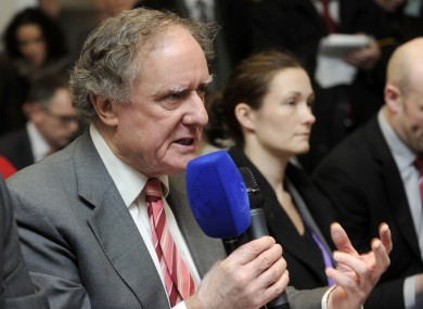 Journalist Vincent Browne will host the debate