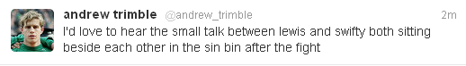 Trimble tweet
